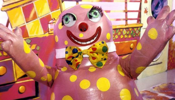 Mr Blobby hits the skids in Marbella