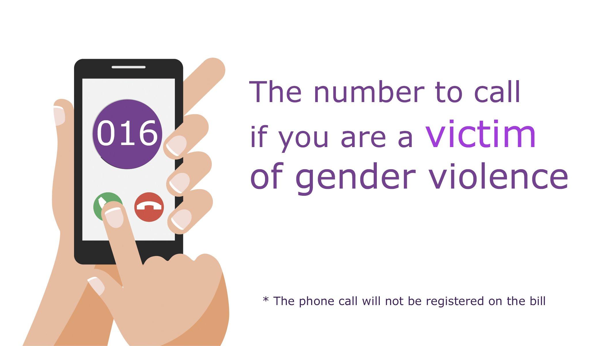 Programme of events against gender violence