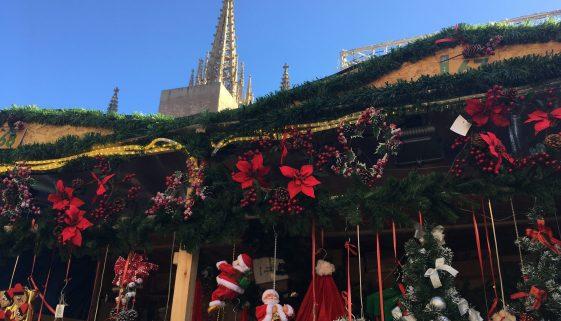 Christmas in Barcelona - Feria Santa Llucia