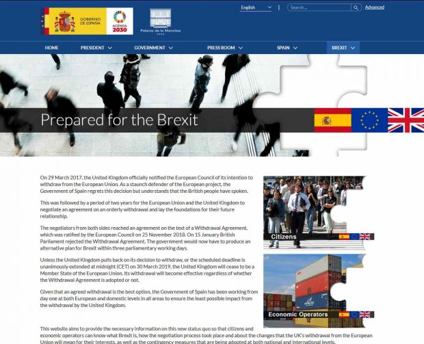 New web resource for UK nationals in Spain