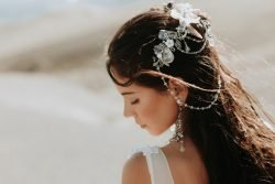 Photo of Bride in her Elopement Wedding