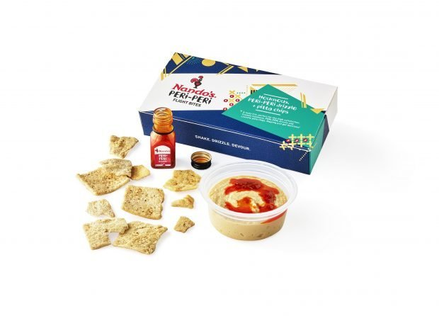 Jet2.com becomes the first UK airline to serve Nando's snacks onboard