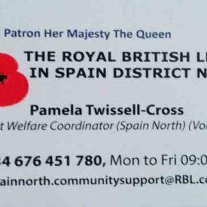 Royal British Legion Spain North