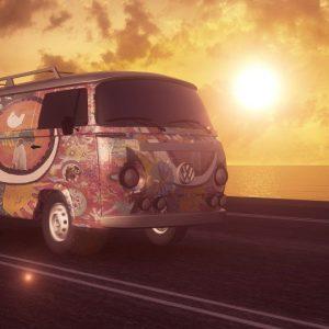 Travelling by camper van in Spain