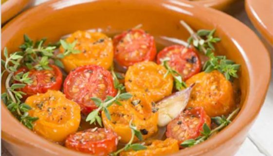 Spanish recipe - Tomates al horno