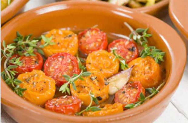 Spanish recipe - Tomates al horno