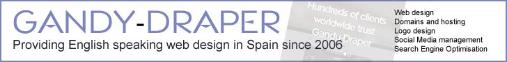 Spain Web Design 728x90