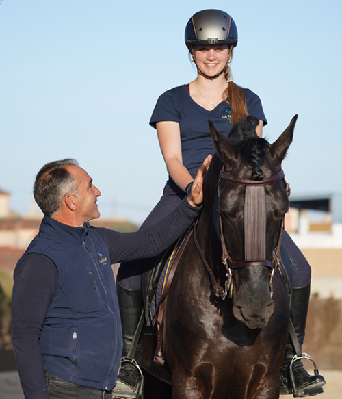 Dressage Lessons in Andalusia