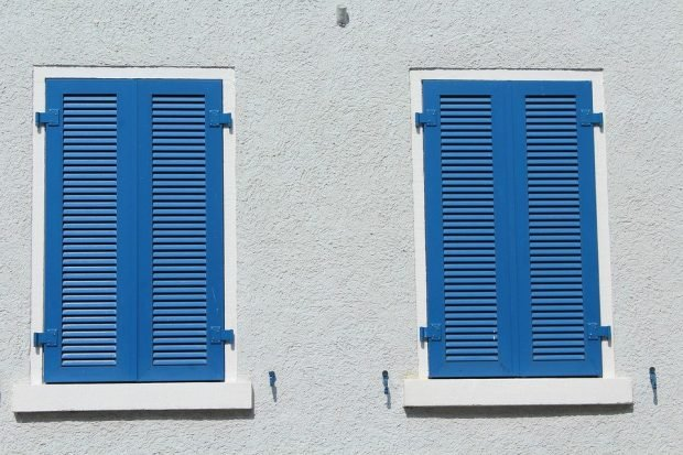 Keeping cool in Spain - close the curtains or shutters
