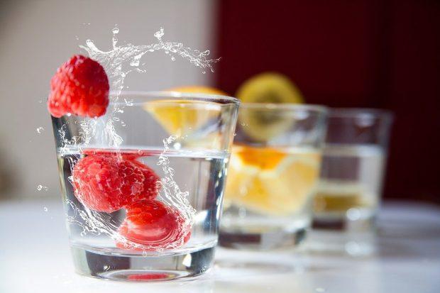 Keeping cool in Spain - drink lots of water