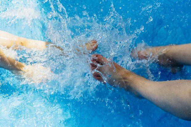 Keeping cool in Spain - get wet