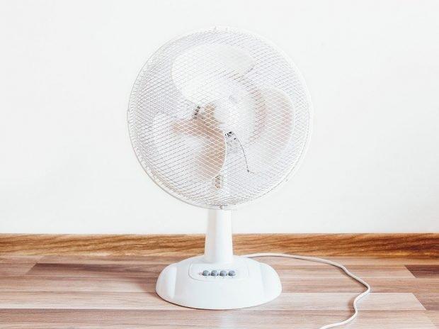 Keeping cool in Spain - use a fan