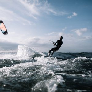 Kitesurfing in Spain