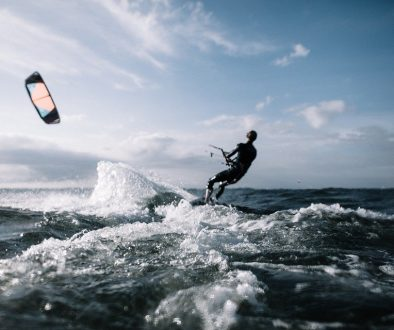 Kitesurfing in Spain