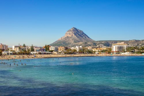 Arenal Beach - Javea, Spain
