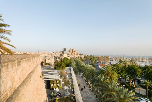 8 of the best rooftop bars in Palma de Mallorca this spring - Es Baluard Restaurant & Lounge