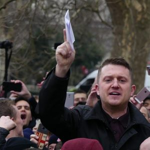 Tommy Robinson, racist and convicted criminal
