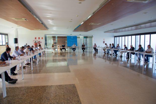 Adeje tourism board meeting September 2020