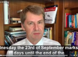 British Embassy News: 100 days left of transition