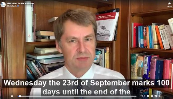 British Embassy News: 100 days left of transition