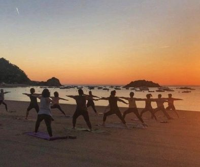 Free yoga classes in Tossa de Mar