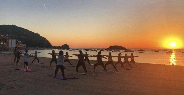 Free yoga classes in Tossa de Mar