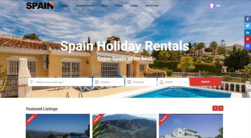 Spain Holiday Rentals