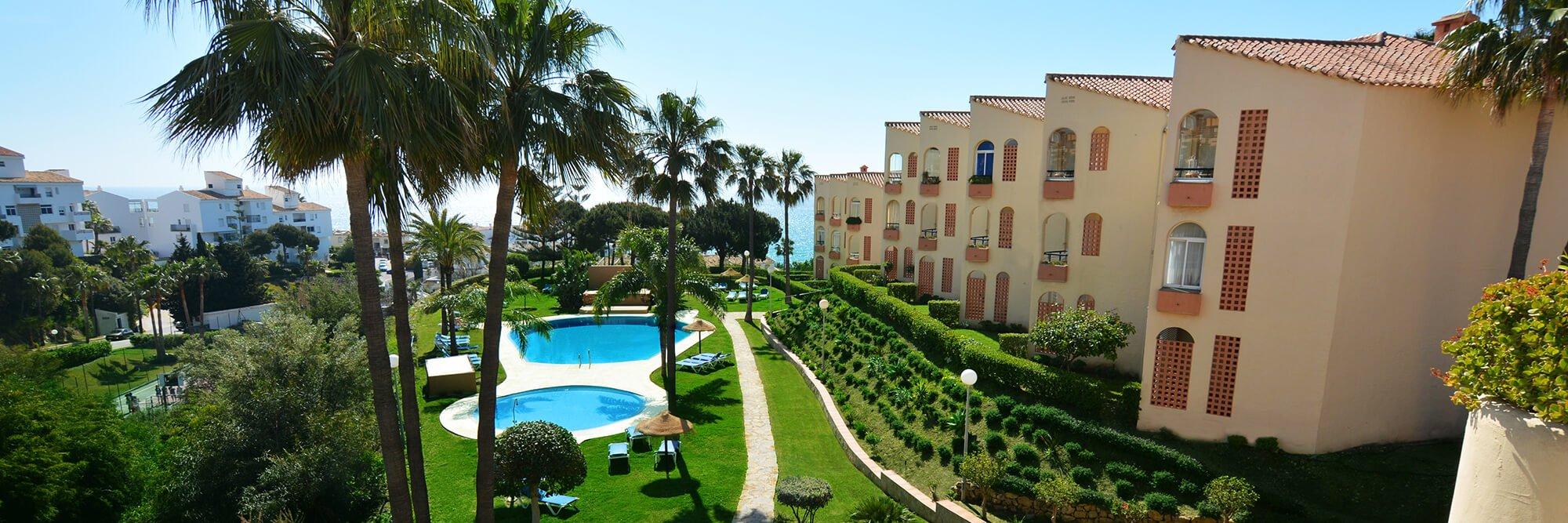 Spanish resort Sierra Marina